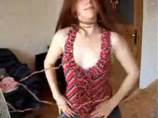 Redhead hotty backs that ass up on cam cast of movie sex drive