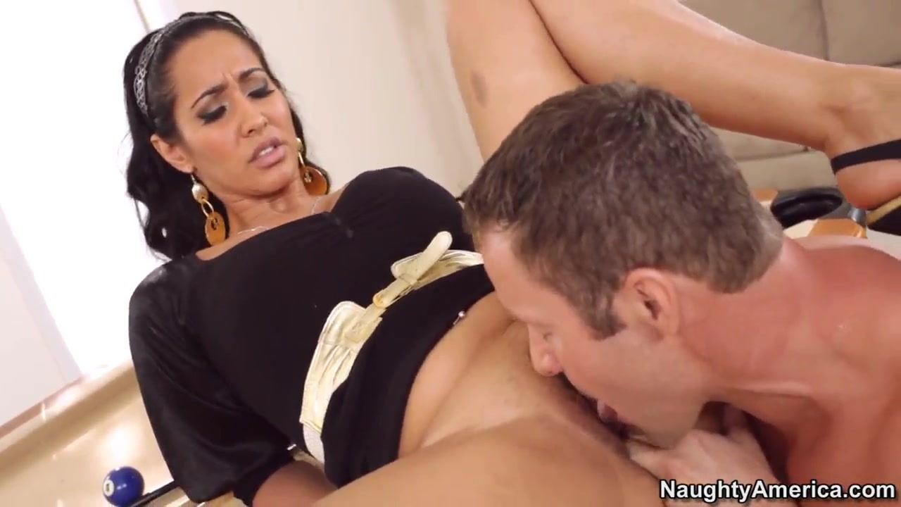 Busty Isis Love gets licked by horny Jack Lawrence
