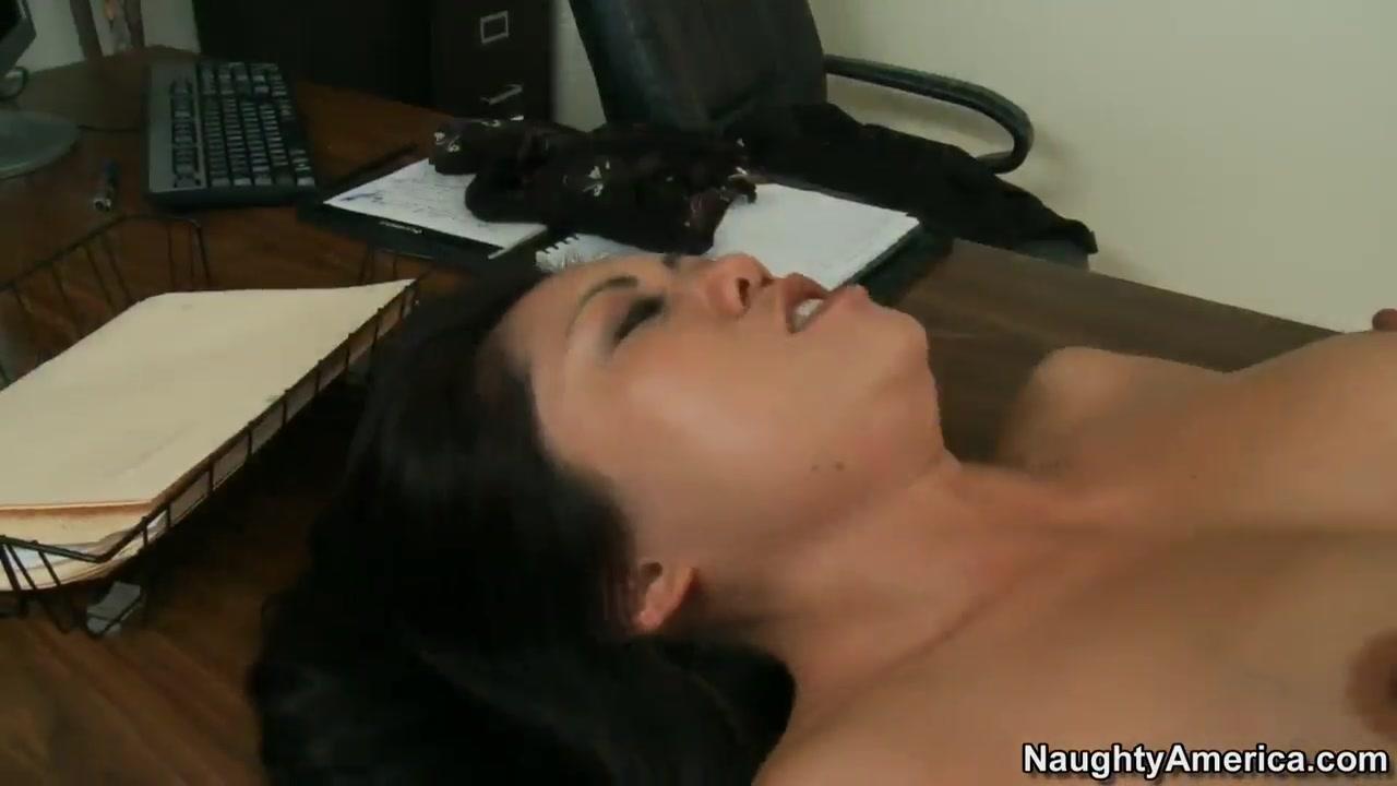Asian model Kaiya Lynn shows off her fucking skills for her new boss Mark Wood Kansas city swingers