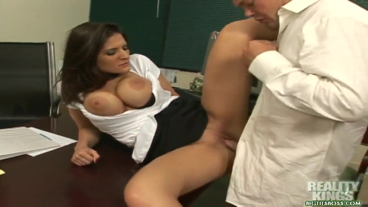 Sexy secretary Austin Kincaid is being nicely pounded Rebecca volpetti blowjob
