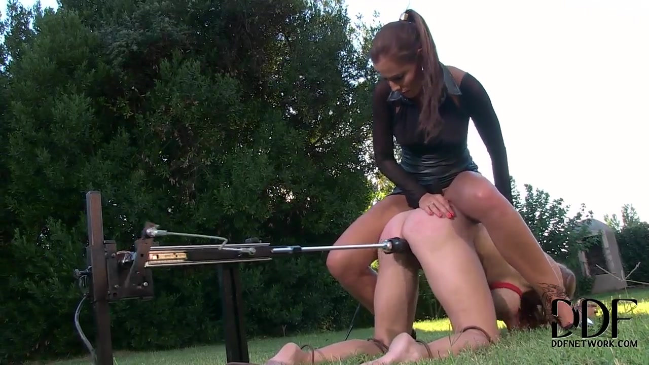 Bizarre garden party. Staring Katarina and Satin Bloom. Chubby girl sex