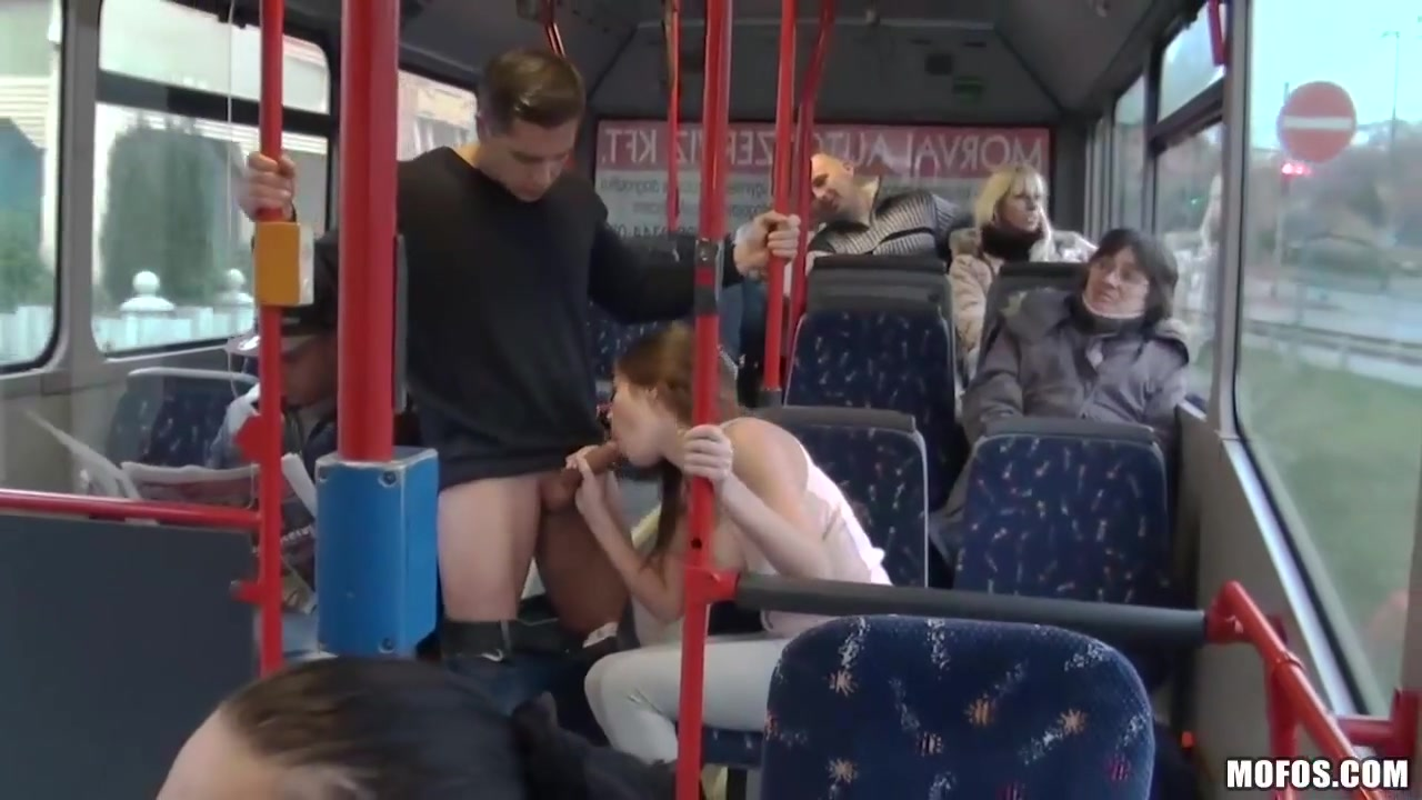 Fucking in the bus hot college girls image