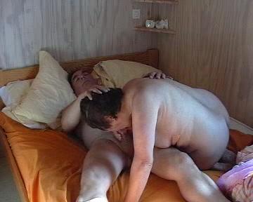 Mature Masturbating Couple