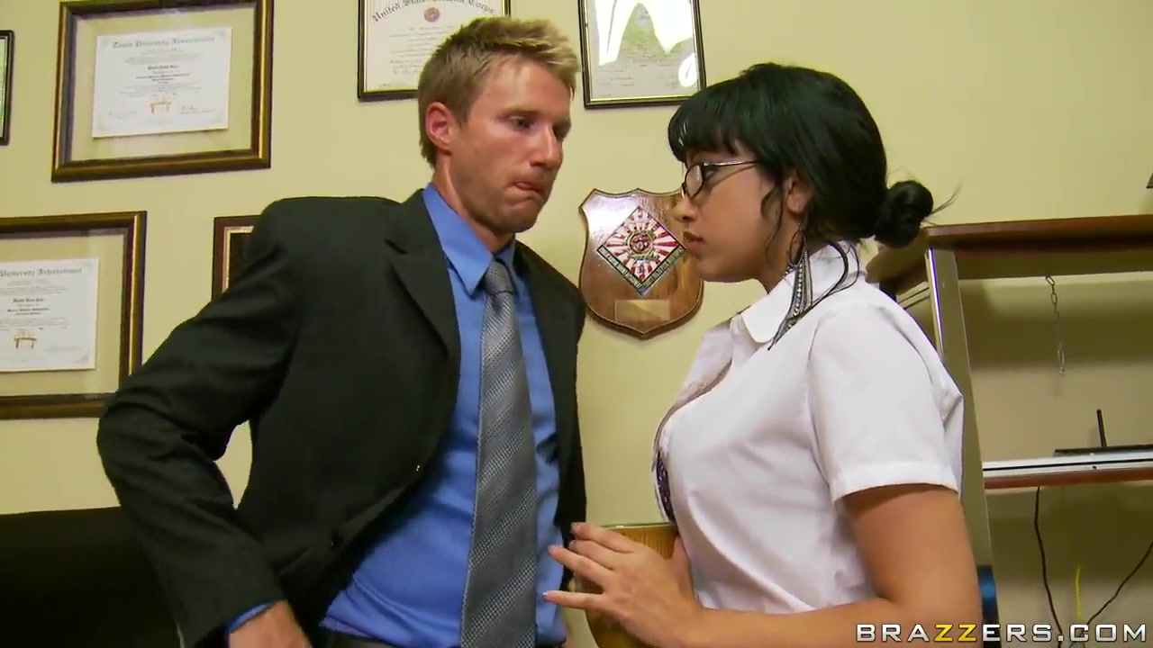 Suckretary likes the hot desires of her boss interracial couples be like