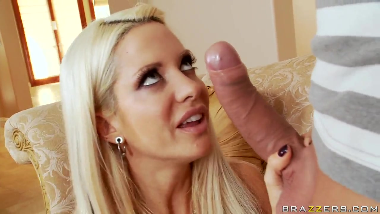 Wonderful blonde pornstar Helly Hellfire sucks the strong dick They Badly Needed A Cock