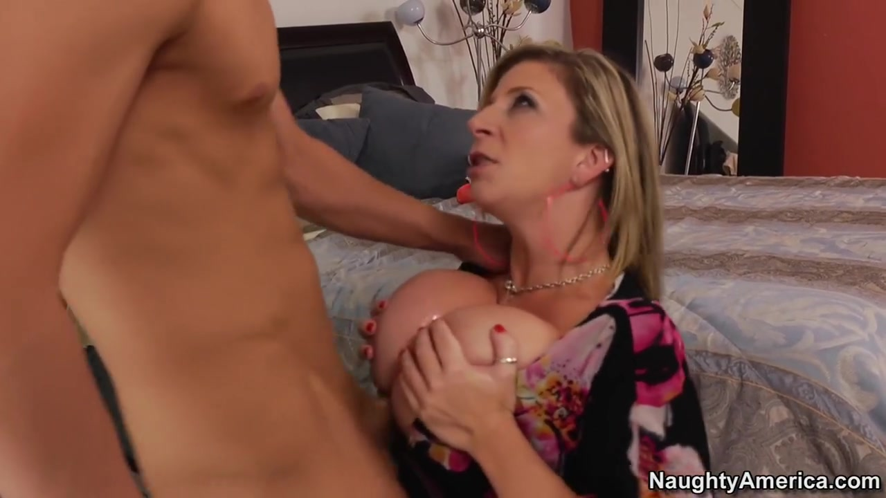 Sara Jay & Bruce Venture in Seduced by a Cougar Hot moms self shots