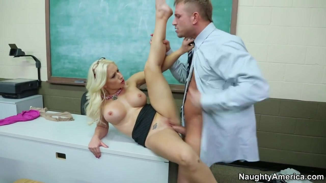 Sammie Spades & Bill Bailey in My First Sex Teacher Perfect lifted boobs
