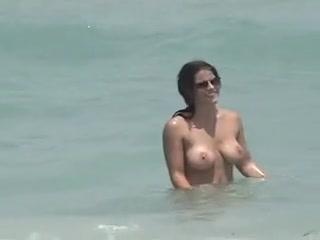 Public voyeur enjoys nude beach sex free fucking movie tit