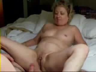 blonde mature slut playing on bed black big dick fuck hard