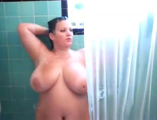Voyeur vid of BBW in the shower Ashley judd gallery nudes