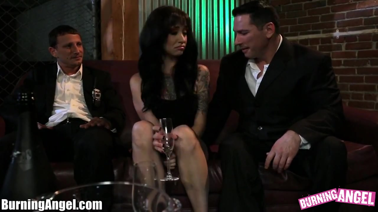 BurningAngel Juliette Black Night Out Threesome ex girlfriend pov porn