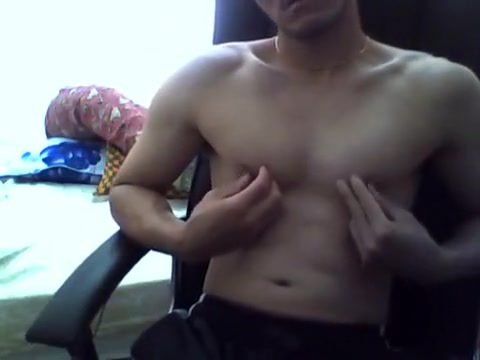 Shy Built Asn Jerk Off @ Home! naked boobs pussy dick