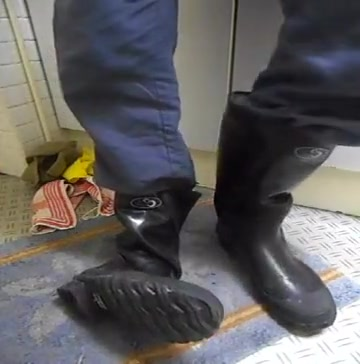 nlboots - LS boots trampling morning prostate milking with toys 1
