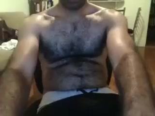 Dishy guy is having fun in the guest room and memorializing himself on web camera Close up amature pussy