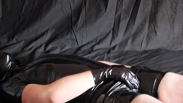 Pvc joy and cum Husband and wife having nude porn sex