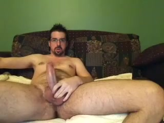 Dishy fagot is masturbating at home and filming himself on camera Milf loves small cock