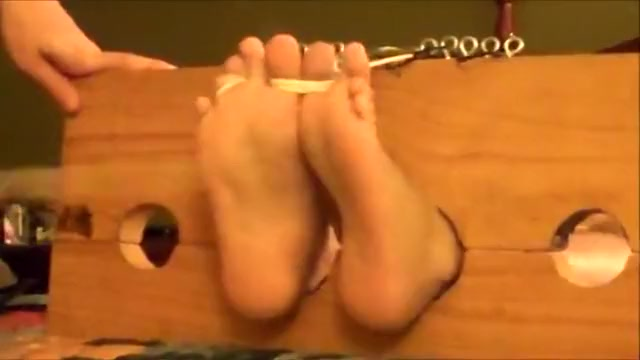 LatinSlaveBoys Feet Punished - Part two a movie of a fully naked sexy porn site