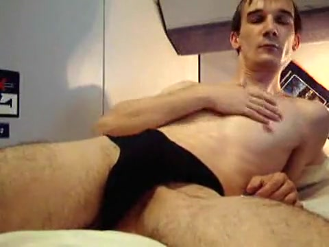 Jerk at a CityNightLine - Swiss Train Housekeeping saw me naked