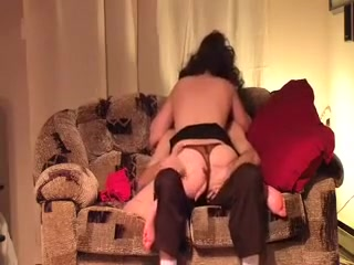 Getting her heated up and willing. Nice ass with thong