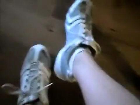 Jerk-off in my Socks! Husband fucks wife with dildo tube8