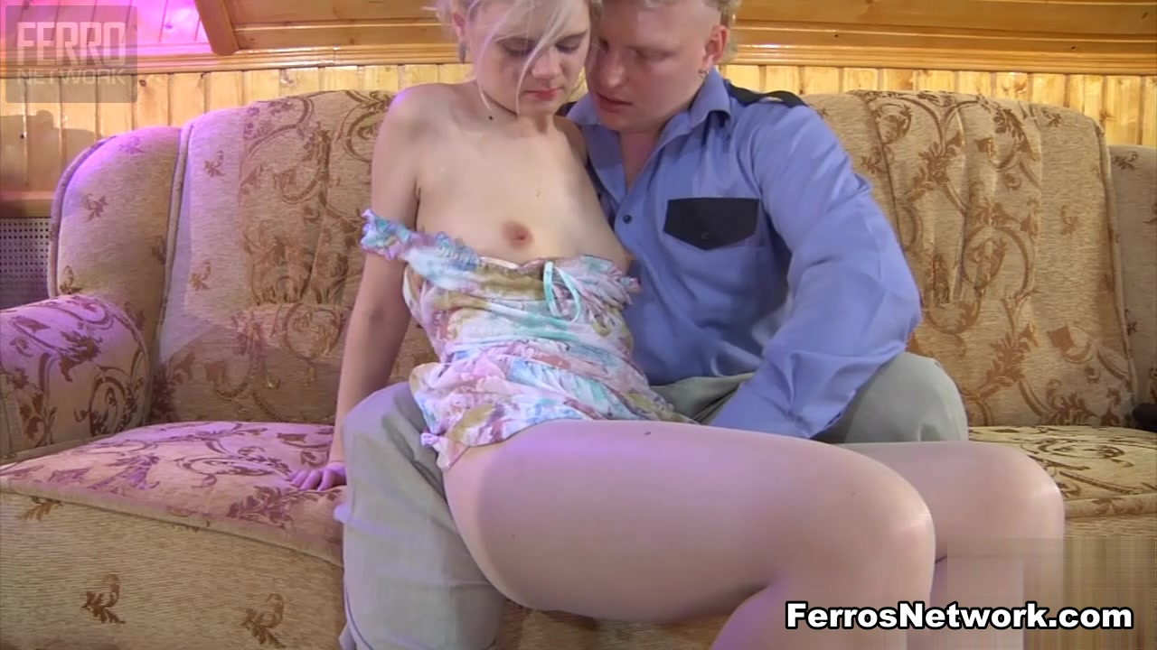 PantyhoseLine Movie: Mary A and Jack A short haired girl gets a very rough anal fucking