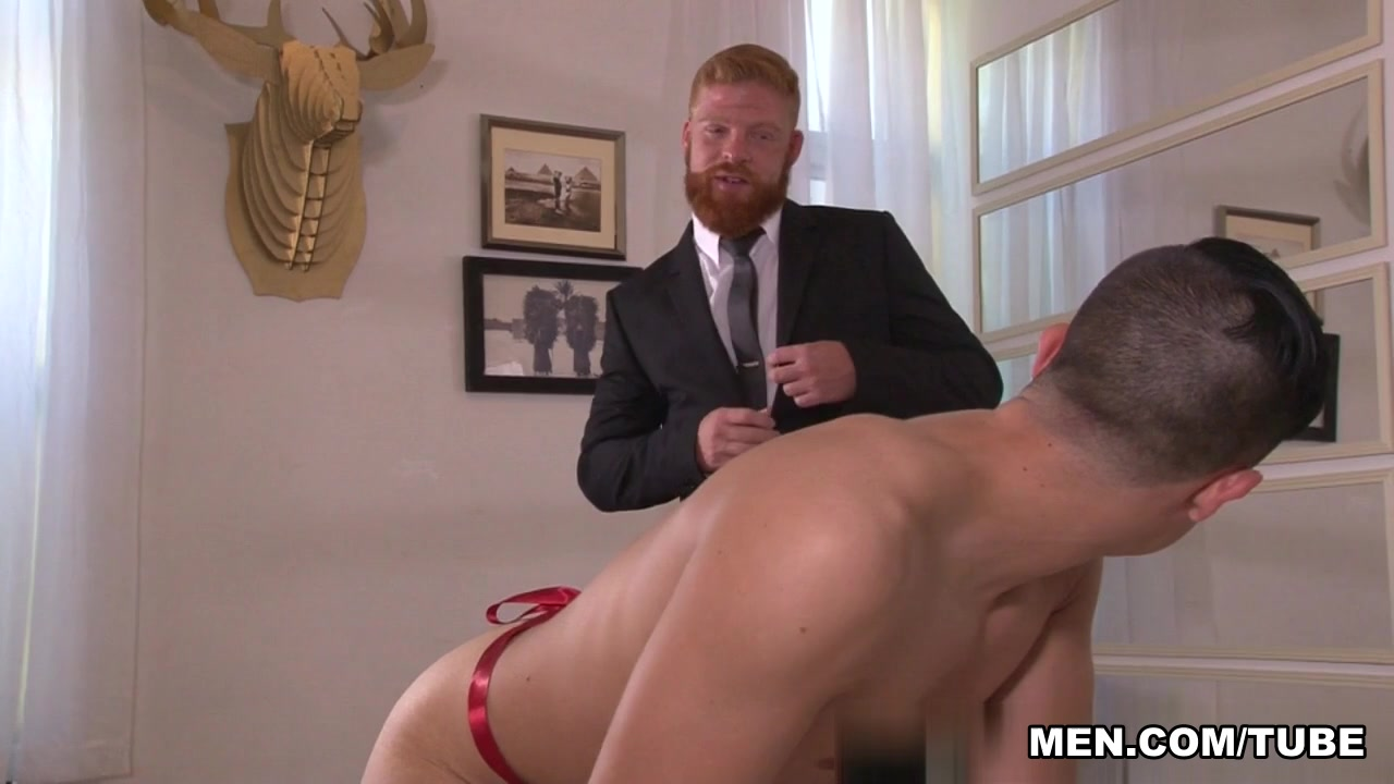 Bennett Anthony & Jacob Ladder in Surprise Gift Scene first interracial marriage on tv