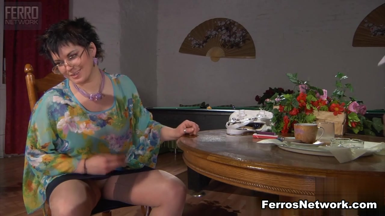 In Euro stockings spoiling dick milf