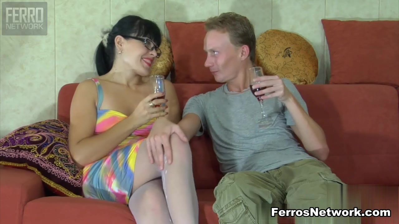 StraponSissies Movie: Muriel and Randolph Blonde chubby fuck