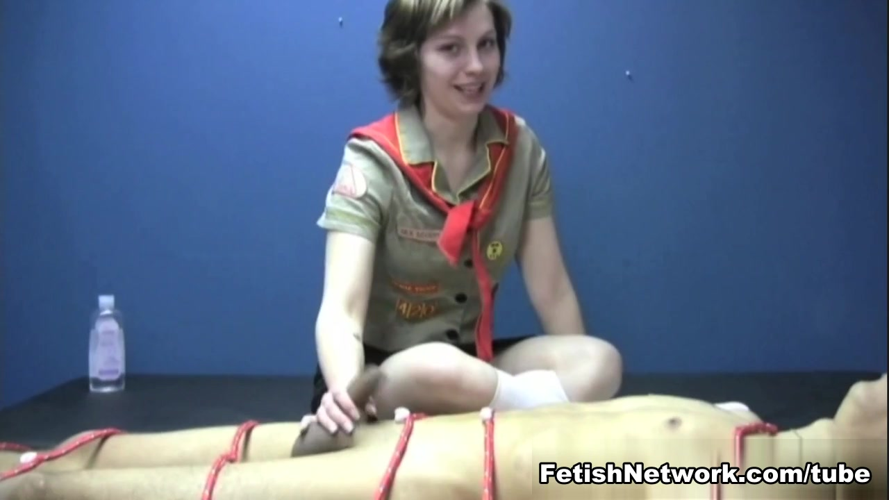 Cock Jerking Girl Scout Badge