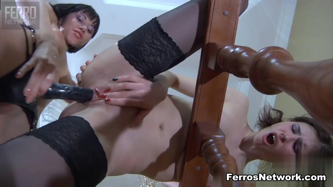 Masturbatian horne Creampie lesbias