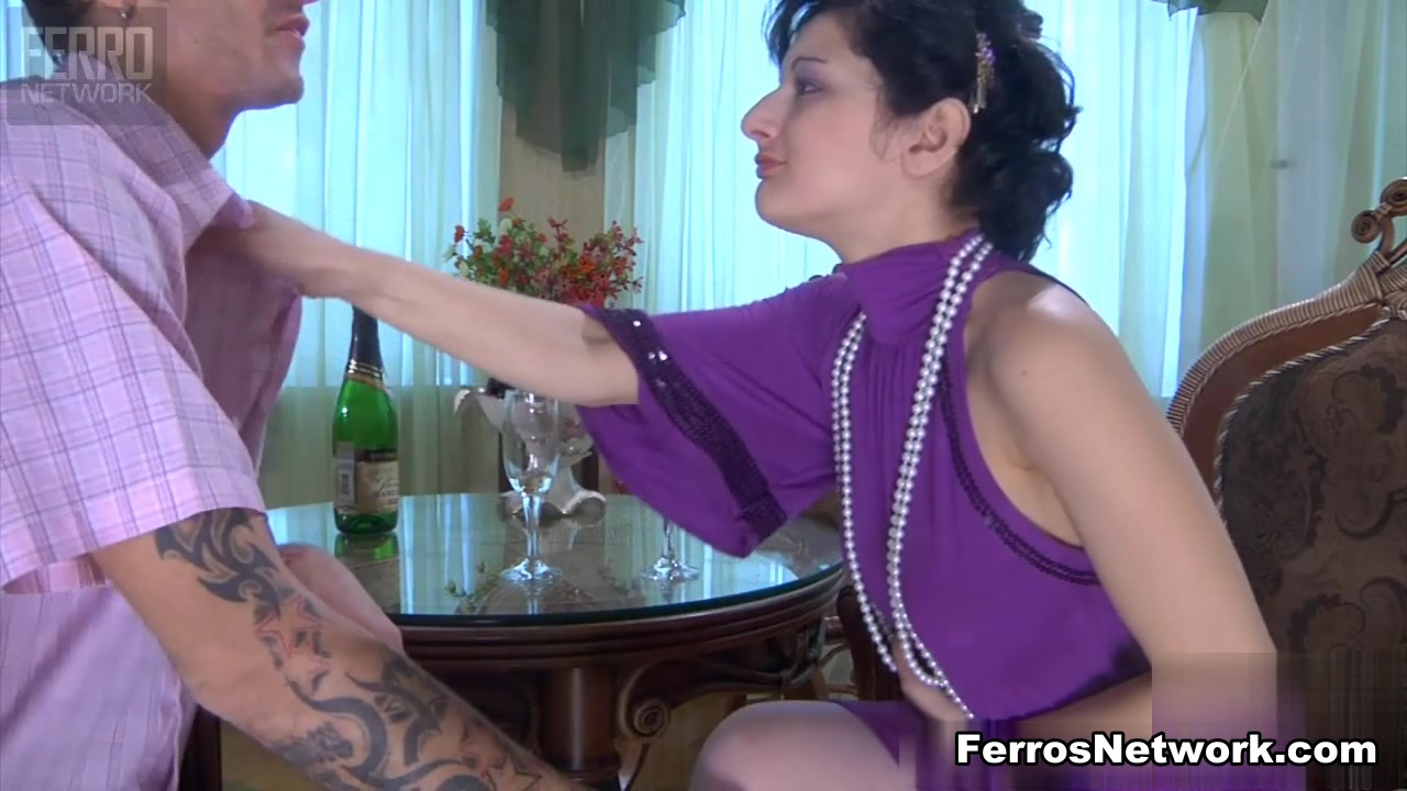 LoveNylons Movie: Inessa and Marcus Compilation Mother Son
