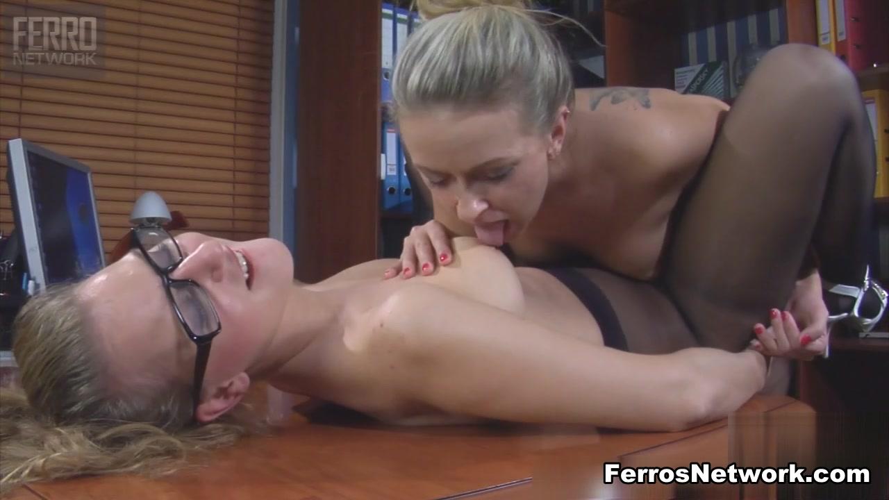 BackdoorLesbians Video: Denis and Barbara Lesbians Punished with rock hard cock