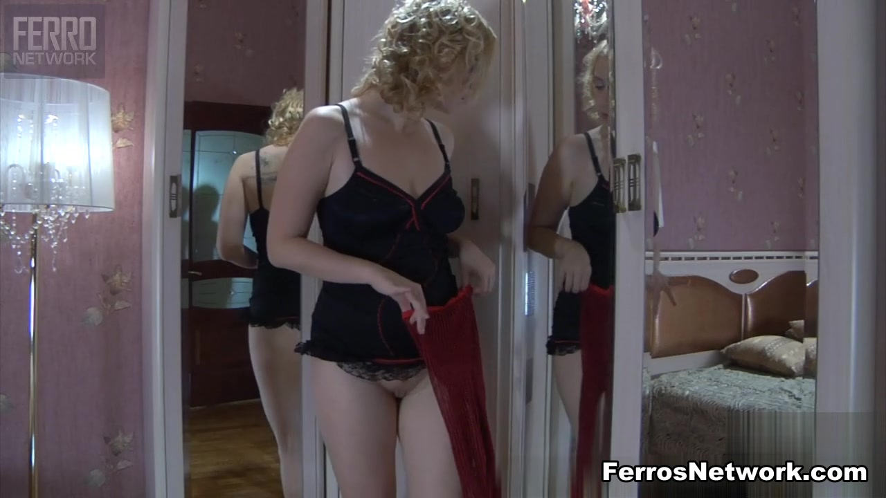 MaturesAndPantyhose Video: Susanna M and Morris First sex teacher blonde milf