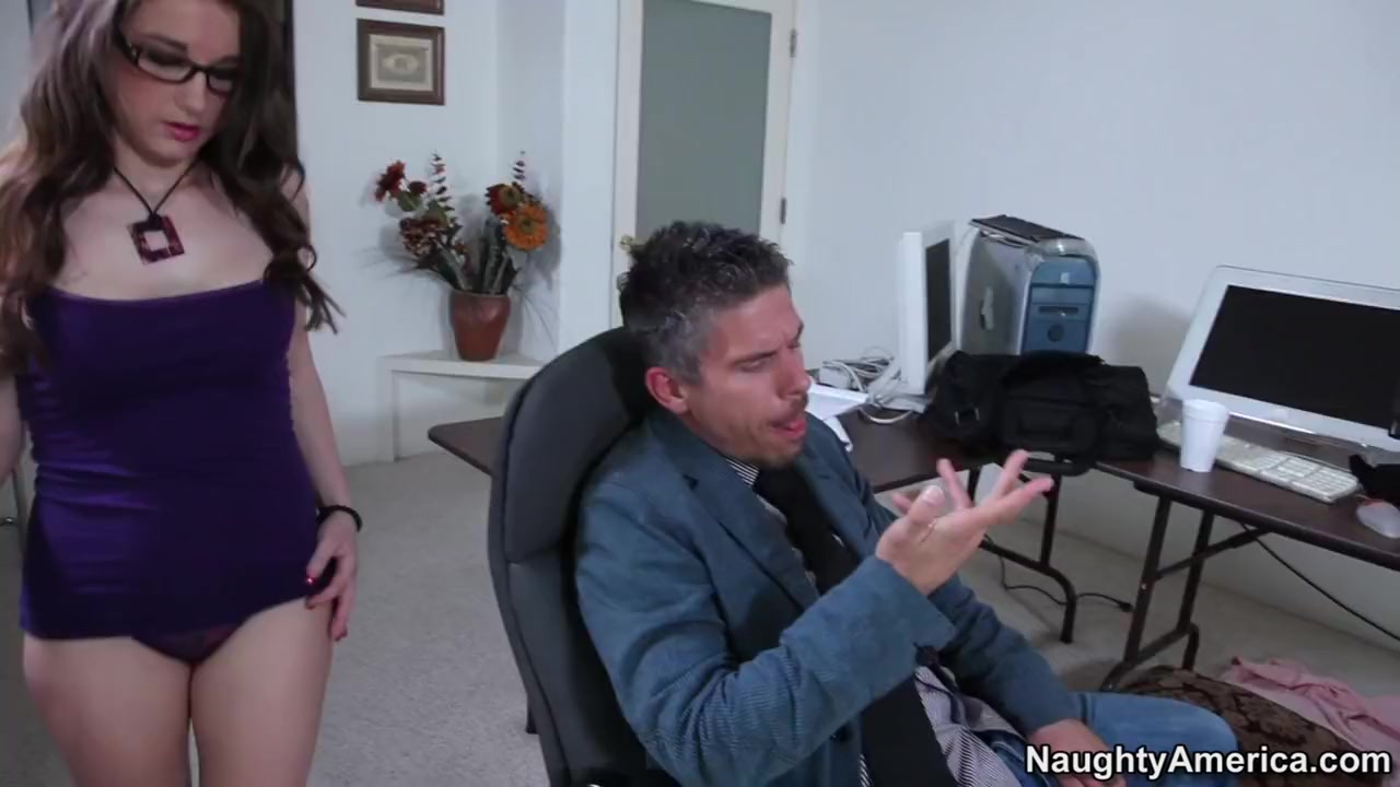 Tiffany Paige & Mick Blue in Naughty Book Worms Sex ex girlfriend video