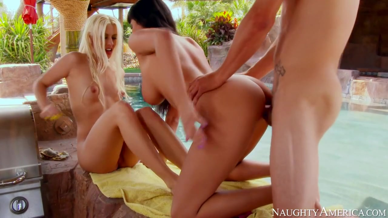 Anissa Kate & Jessie Volt & Tyler Nixon in My Dad Shot Girlfriend Friv play online games for free