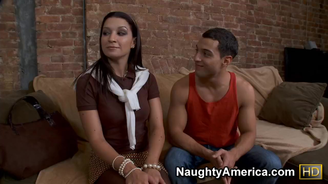 Ann Marie Rios & Mikey Butders in Naughty Rich Girls pink pussy hot sex