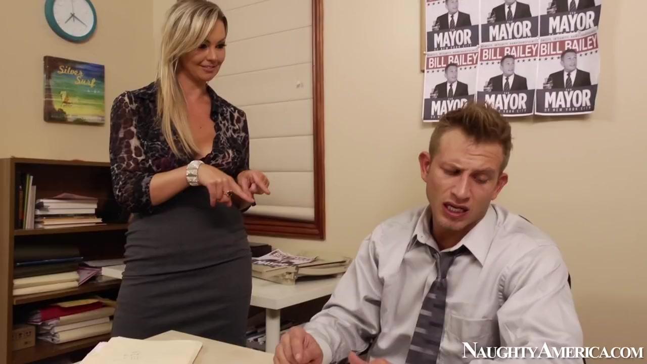Abbey Brooks & Bill Bailey in Naughty Office