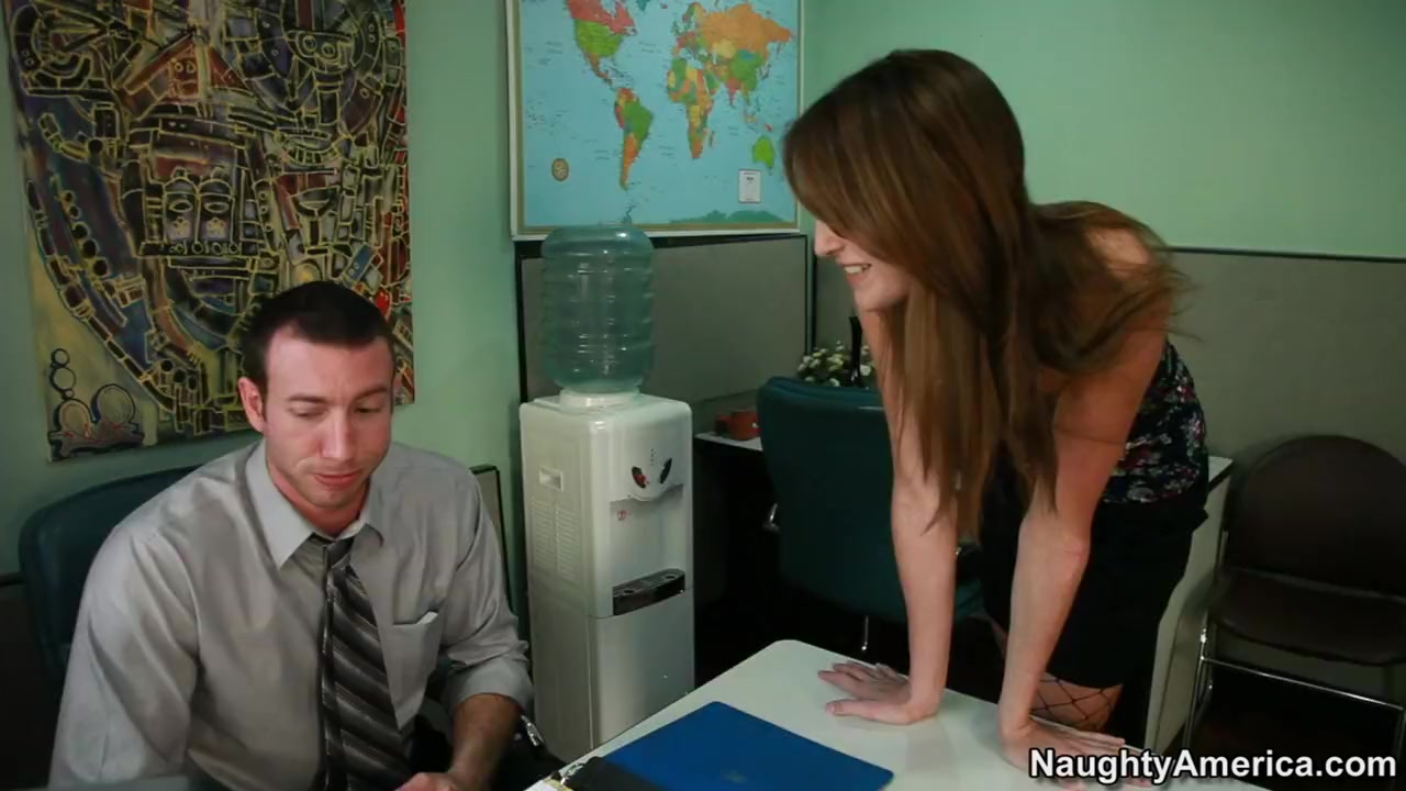 Kara Price & Jordan Ash in Naughty Office Thick pussy women naked