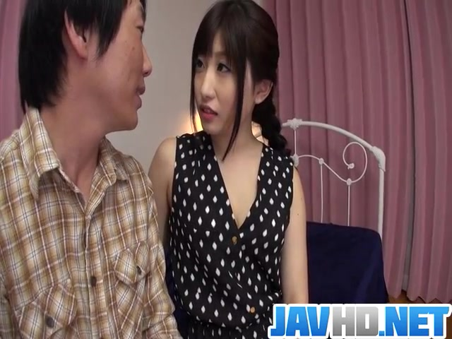 Cock sucking Arisa Nakano gets busy with a tasty dong Www Free Amateur Porn