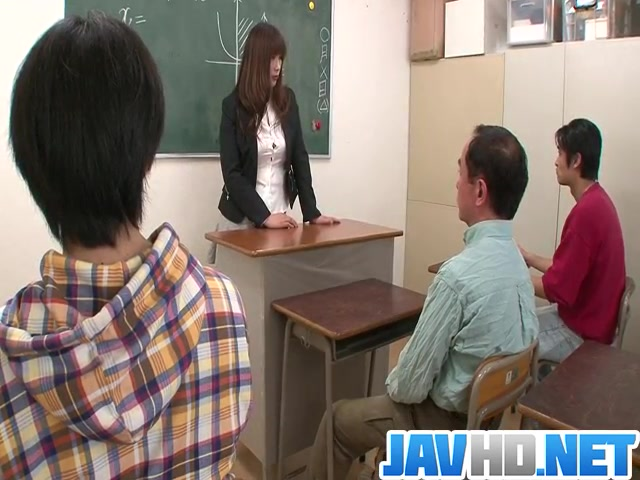 Insolent teacher is in for a steamy fuck at school Xxx huge natural tits
