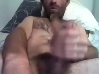 Dishy fagot is playing in the guest room and shooting himself on camera Hot blonde pussy orgasm