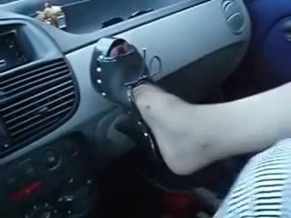 Dark nylons in my car!!!!!