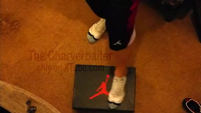 Basketball and Nike Air Jordan 5 Take a kiss to sex with casual date