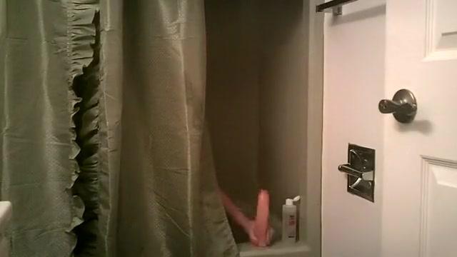 shower toy Amateur pawg blowjob