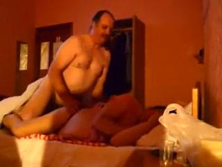 Fat pair having chunky sex