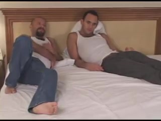 Tucker & Kevin Busty masseuse scissoring her client