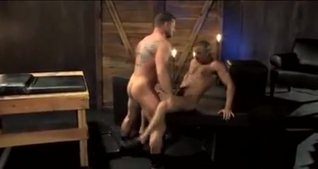 Hot Muscle Fuck Standing up sex position