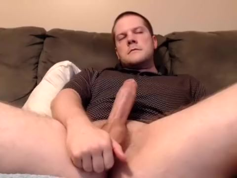 Naughty fag is frigging in the apartment and filming himself on webcam deep throat cum in mouth compilation