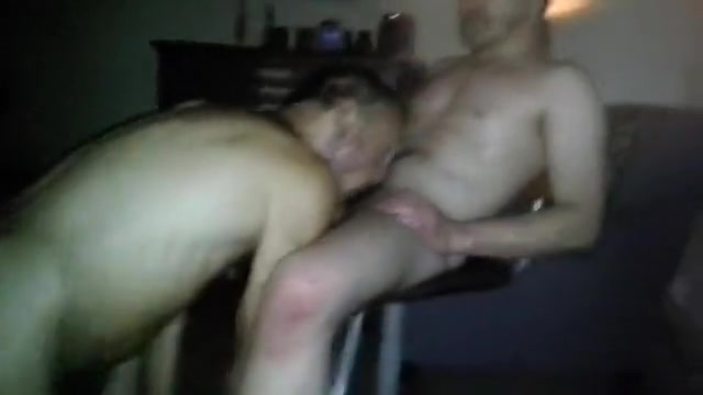 younger dad bonks mature dad, cums up his arse Wife gets fucked in ass and crys
