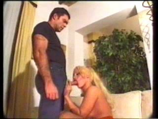 Busty blonde tranny ass drilled girl fucks hundreds of guys at one time